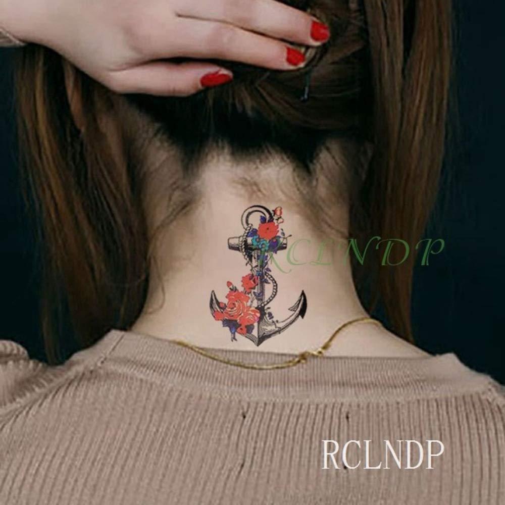 ljmljm 5 Piezas Etiqueta engomada del Tatuaje a Prueba de Agua ...
