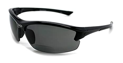 c10a6d4dbd86 Amazon.com  Renegade Patented Bifocal Polarized Reader Half Rim ...