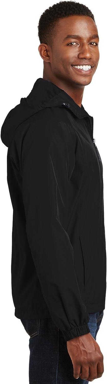 SPORT-TEK Mens Hooded Raglan Jacket