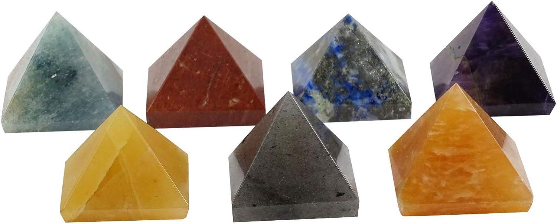 Harmonize Orgone Multistone Chips Glass Bottle Pendulum Reiki Healing Crystal Spiritual Gift