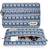 Canvaslife Elephant Laptop Sleeve 13 Inch Macbook Air 13 Case Macbook Pro 13 Sleeve and 13.3 Inch Laptop Bag