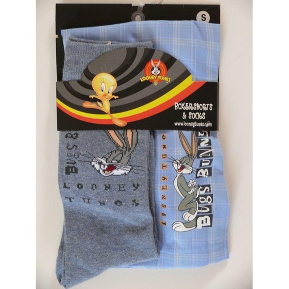 Bugs Bunny Coffret - Calzoncillos y Calcetines Looney Tunes Small: Amazon.es: Ropa y accesorios