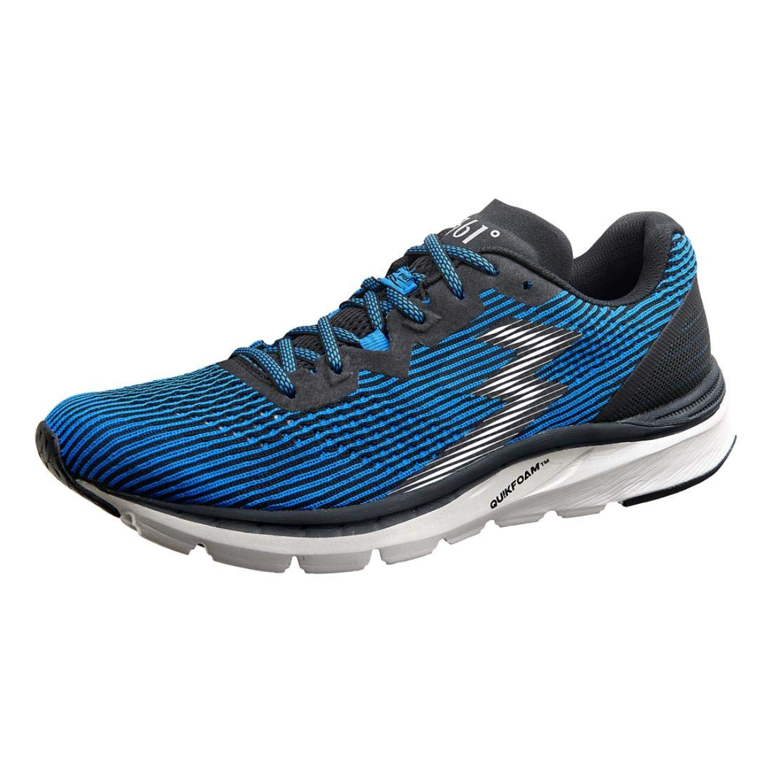Image of 361 Degrees Men's Fantom, Black/Jolt, 12.5 Medium Running