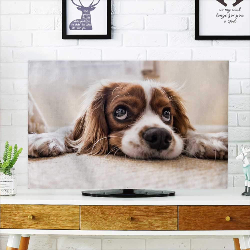 color07 W32 x H51 INCH TV 55\ color07 W32 x H51 INCH TV 55\ aolankaili Cord Cover for Wall Mounted tv Pet Dog Cover Mounted tv W32 x H51 INCH TV 55