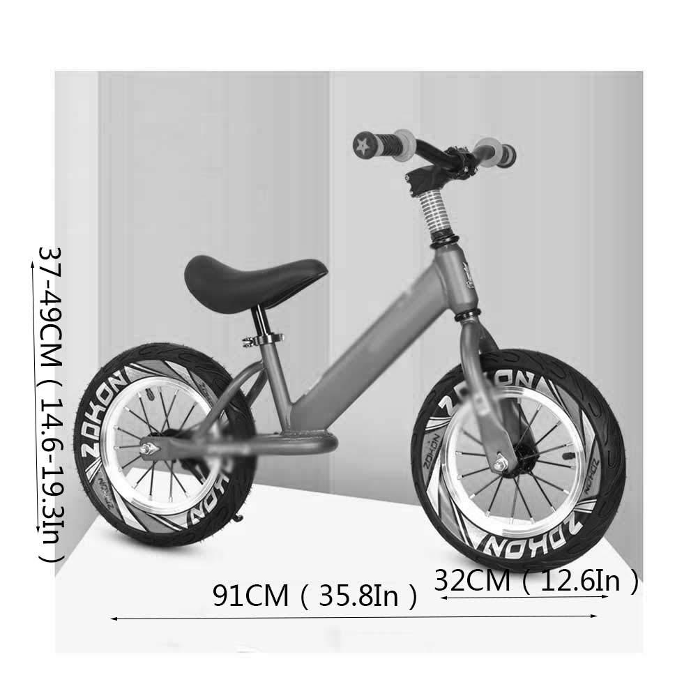 XRXX Bicicleta De Equilibrio para Niños Pequeños Mango Giratorio ...