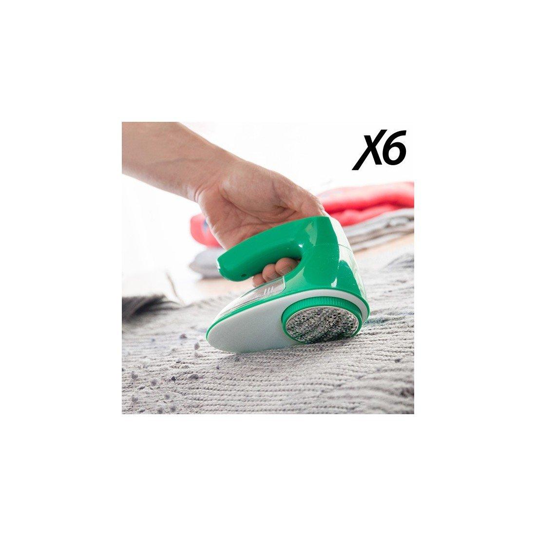 X6Bobble Remover–Spazzola Pelucchi, elettrico, 5V, colore: verde InnovaGoods IG113485