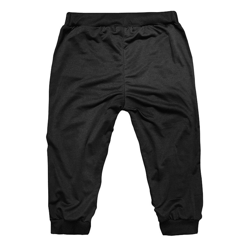 FTXJ Men Gym Workout Jogging Shorts Pants Fit Elastic Casual Sportswear