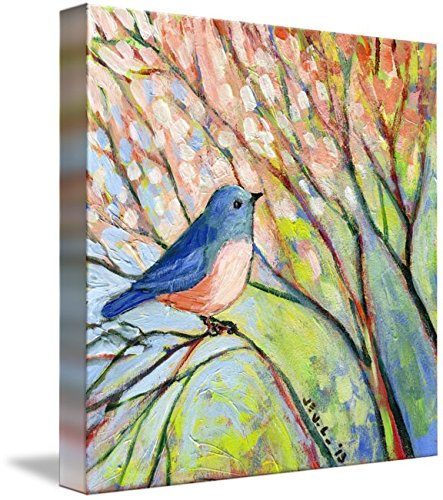 Wall Art Print entitled Bluebird by Jennifer Lommers