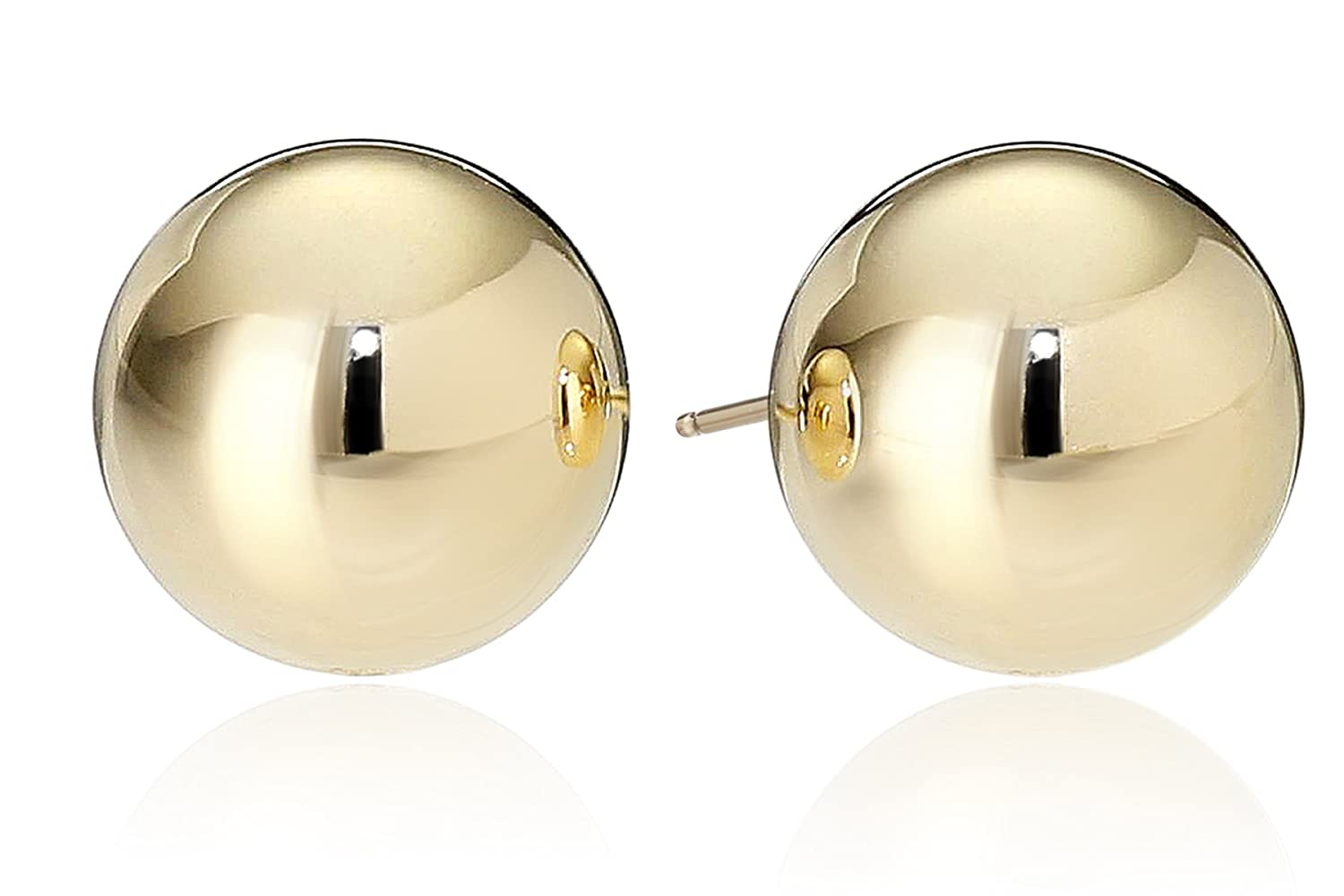 stud bingefashion earrings gold elegant vermeil and in yellow beautiful knot wmnemwy knob