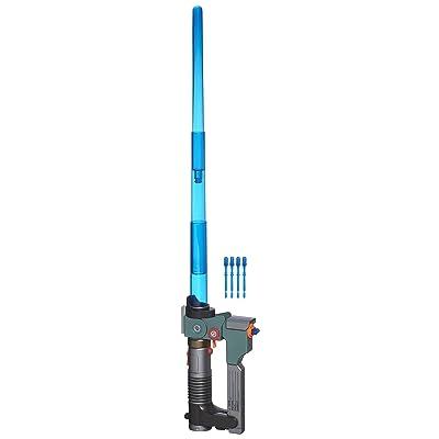 Star Wars Ezra Bridger Lightsaber Blaster: Toys & Games