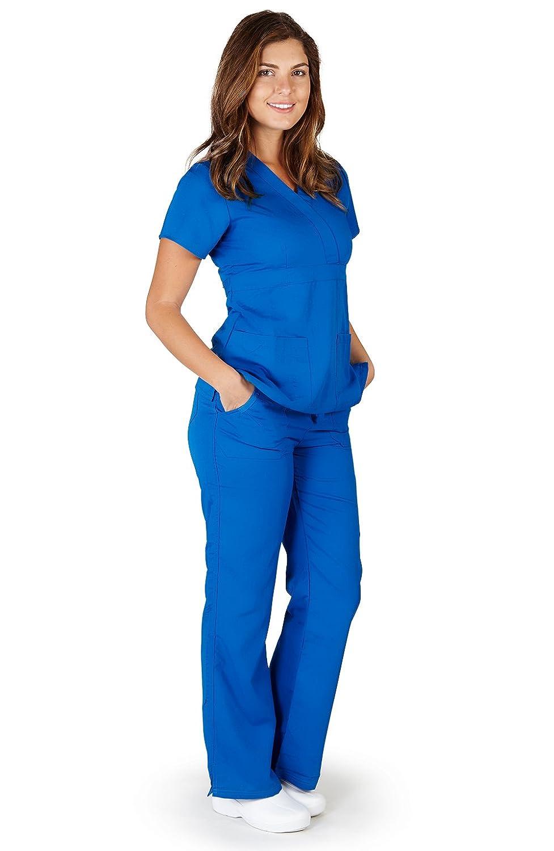 UltraSoft Premium Medical Nursing Scrubs Image 1