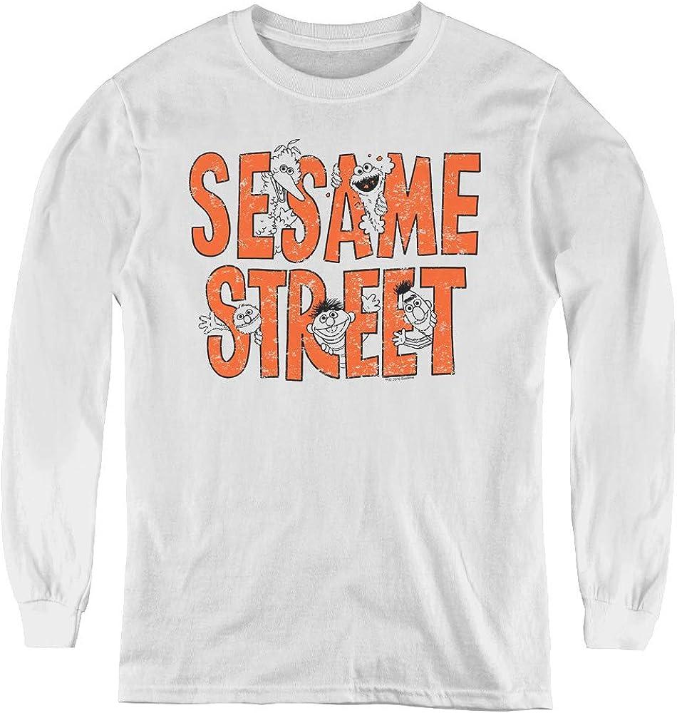 Sesame Street Youth Long Sleeve T Shirt