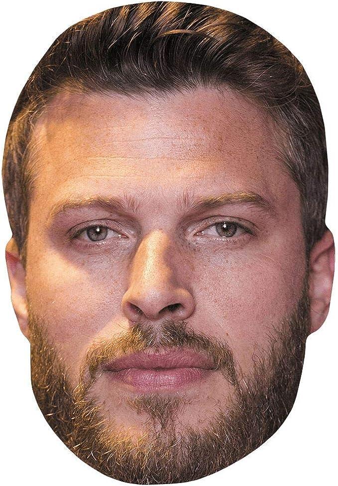Beard Card Face and Fancy Dress Mask Celebrity Mask Randy Orton