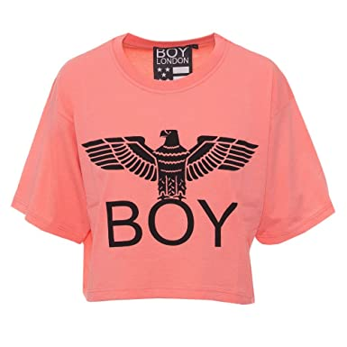 Damen Pesca London Kurze Bl1020 T Shirt M Boy Drucken 5gnw8Tnx