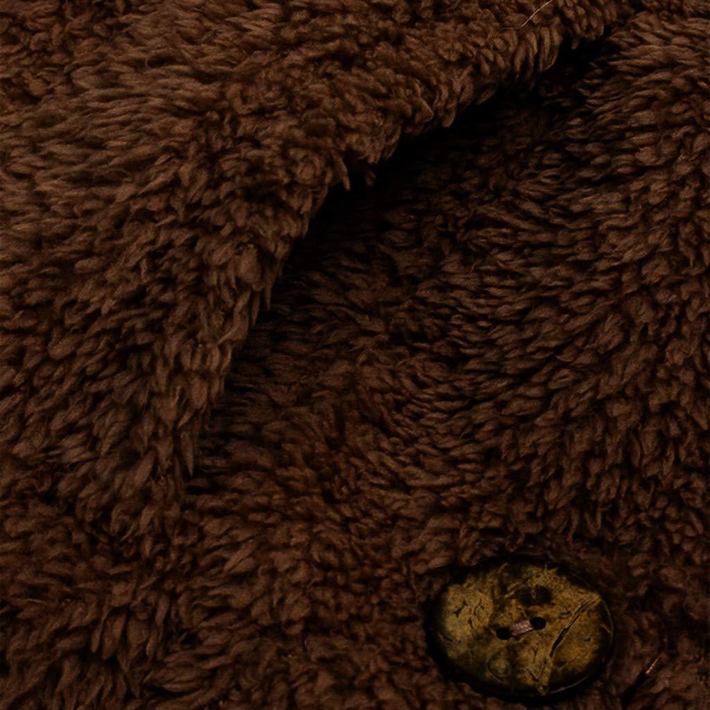 Darringls Abrigos de Invierno Mujer,Chaqueta Más Terciopelo cálido Abrigo con Capucha botón Parka Moda Cardigan Mujer Invierno Corto SeccióN: Amazon.es: ...