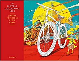 the bicycle coloring book journey to the edge of the world - Bicycle Coloring Book
