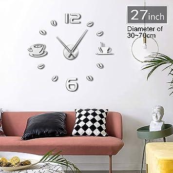 Nazaka | Reloj de Pared | 1 Pieza de Reloj de Pared con números Grandes y