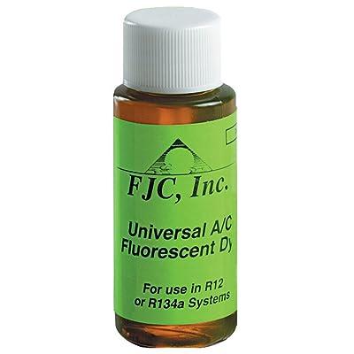 FJC. 4910 Universal A/C Fluorescent Leak Detection Dye - 1 oz.: Home & Kitchen