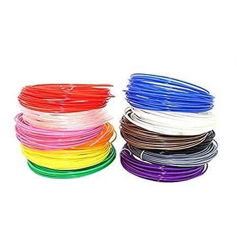 Recambios de impresión 3d Pluma filamento 1,75 mm PLA lineal ...