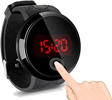 Montre bracelet LED numérique pour homme Fenkoo, écran