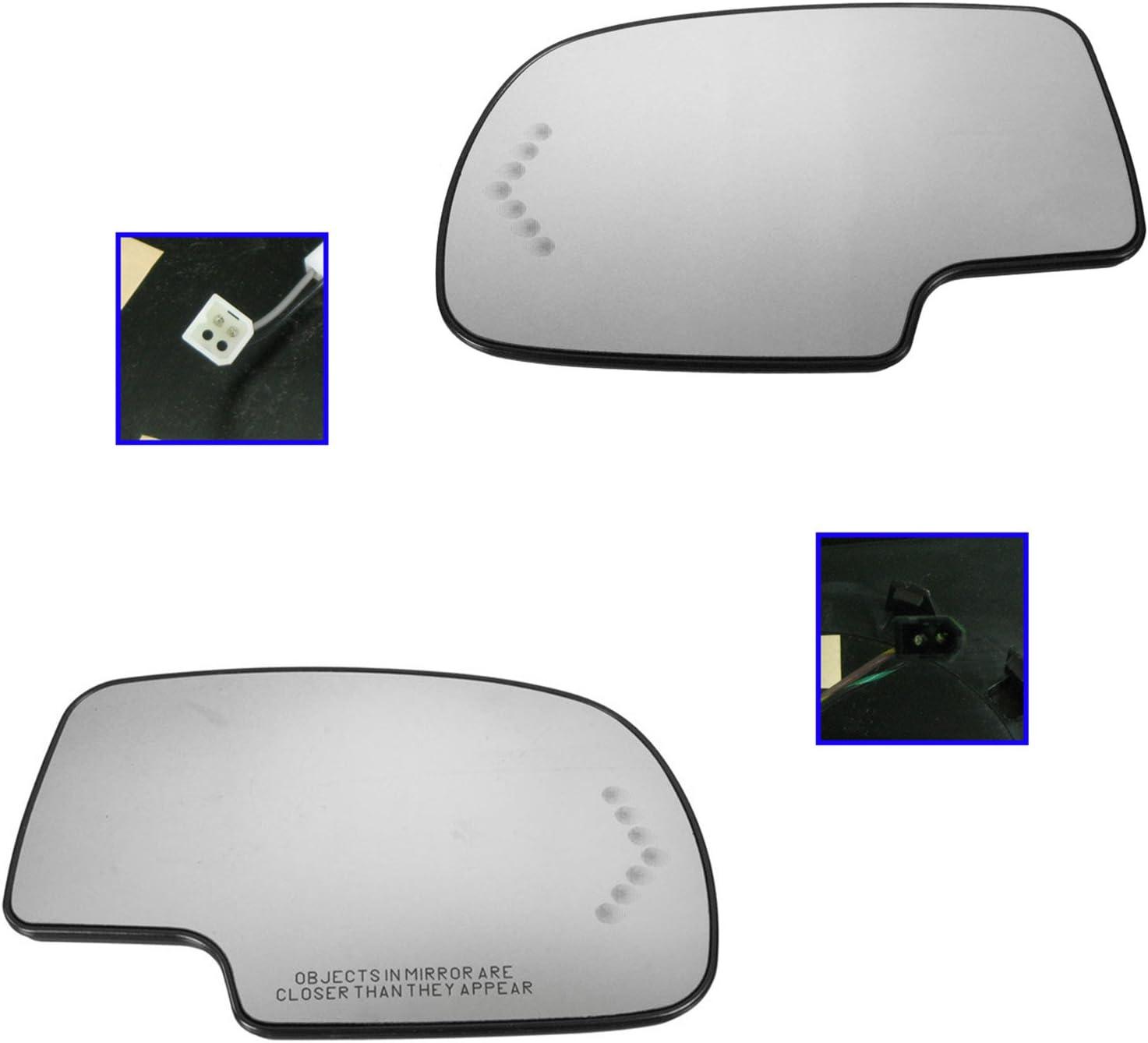 03-06 Tahoe Yukon Escalade Sierra Mirror RH Right Turn Signal Heated Glass OEM