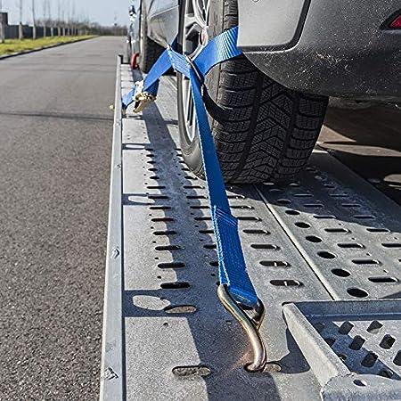 Pcp24 Spanngurt Set Für Autotransport Auto