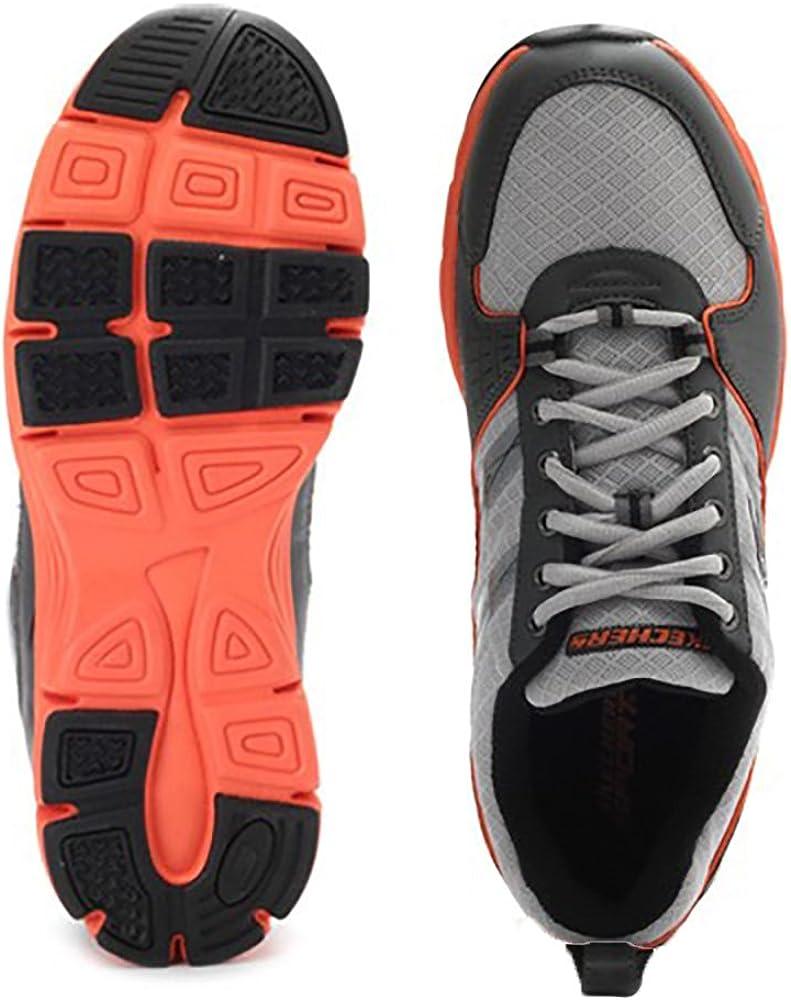 Skechers, Uomo, Uninterrupted, Mesh, Sneakers, Grigio