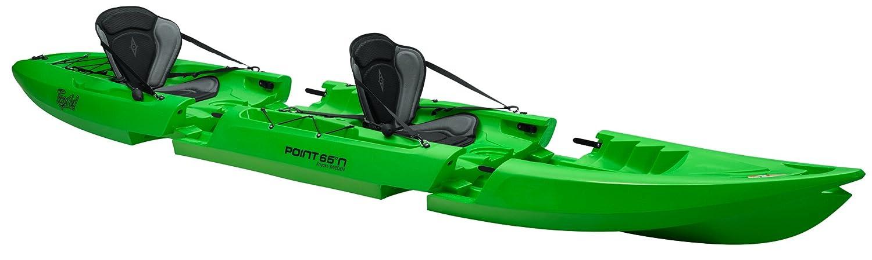 テキーラ。GTX Tandem Modular Kayak B01DCWIF3Q  ライムグリーン