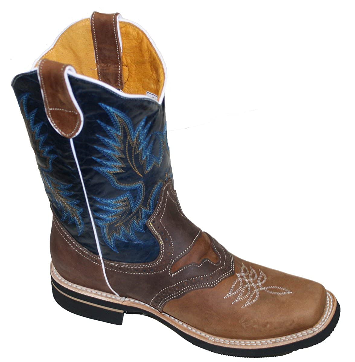ebdbf15d2ca Genuine Leather Cowboy Boots - Fashion Boots