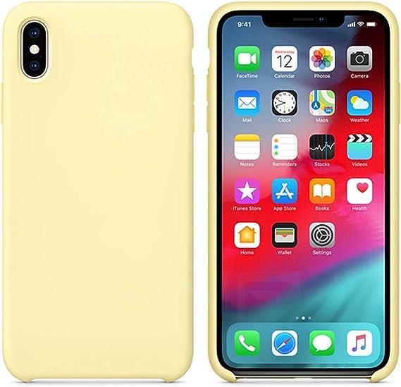 Funda iPhone 6 6s 7 8 Plus X Xs Max Xr Case Silicon Silicona