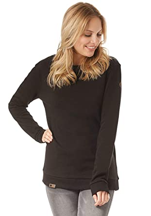 Lakeville Mountain Damen Pullover LUVUA | klassischer Basic Sweater |Sweatshirt für Damen