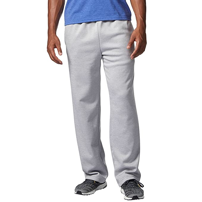 adidas Men's Team Issue Fleece Open Hem Pant