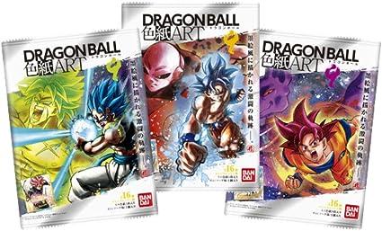 Bandai Dragon Ball Shikishi ART 10 10Pack BOX CANDY TOY