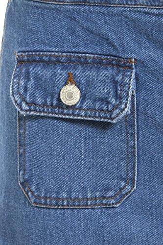 pour 16 SS7 jupe Maxi Jean Jeans 8 NEUF jeans Femmes Bleu bleu Tailles xUU1HT