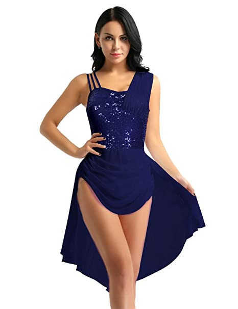 CHICTRY Vestido Danza Ballet Mujer Maillot Baile con ...