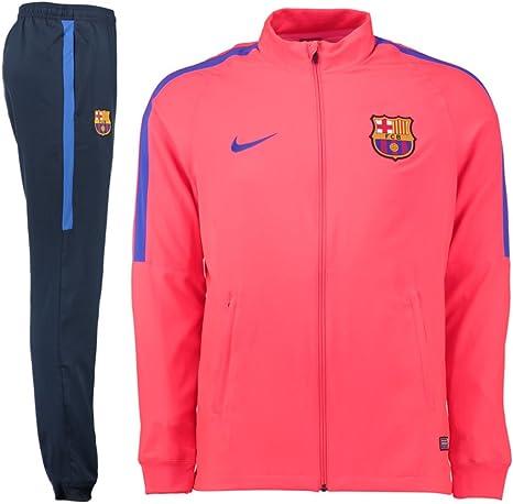 trono Repetirse Araña  NIKE FCB M NK Dry TRK Suit SQD W Chándal FC Barcelona, Hombre, Rojo (Bright  Crimson/Obsidian/Game Royal), S: Amazon.es: Ropa y accesorios
