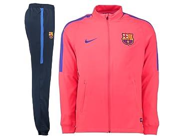 8da2e6a5ce Nike - FCB Y NK Dry TRK Suit SQD W - Survêtement - Rouge - XL ...