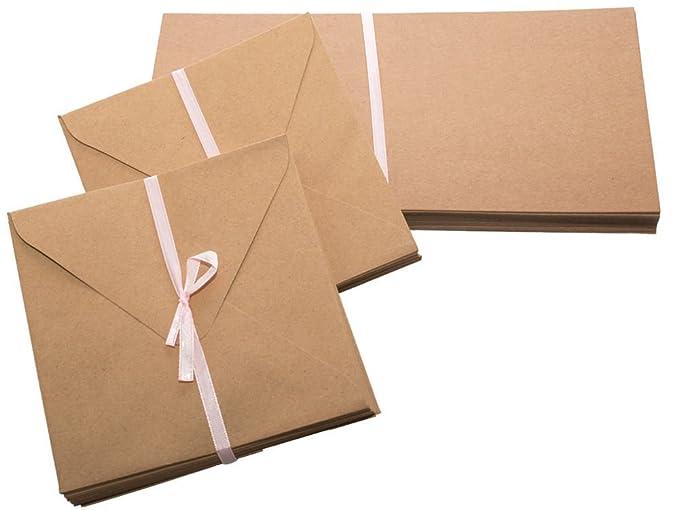 Carte Vide Blanche Kraft 100pcs Marque Page Tiquettes Cartes Postales De Visite