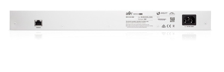 Ubiquiti UniFi Switch 48 Port US-48-750W Managed PoE+ Gigabit Switch with  SFP 750W