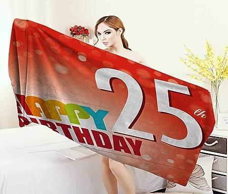 Anniutwo 22 cumpleaños Toalla Feliz cumpleaños a Tus Candies ...