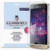 Samsung Galaxy J3 Screen Protector [2-Pack], iLLumiShield - (HD) Blue Light UV Filter / Premium Clear Film / Anti-Fingerprint / Anti-Bubble Shield