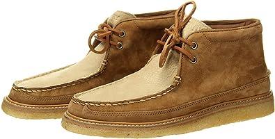 J.Crew Crepe Soled Leather Chukka Boots