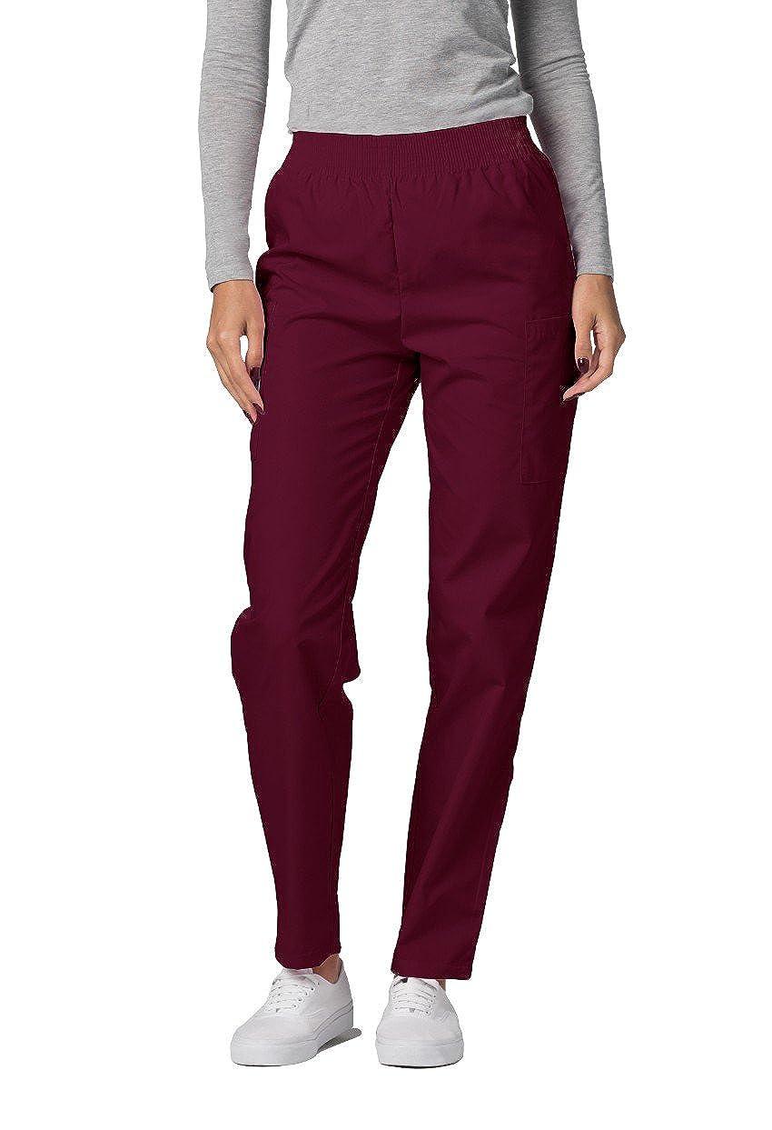 Pantaloni Camice Medico – Pantaloni da Donna Uniforme Ospedale - 503 Colore: BRG | Dimensione: XL 503BRGXL