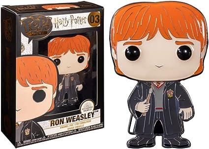 Funko Pop! Pin: Harry Potter - Ron Weasley Premium Enamel Pin ...