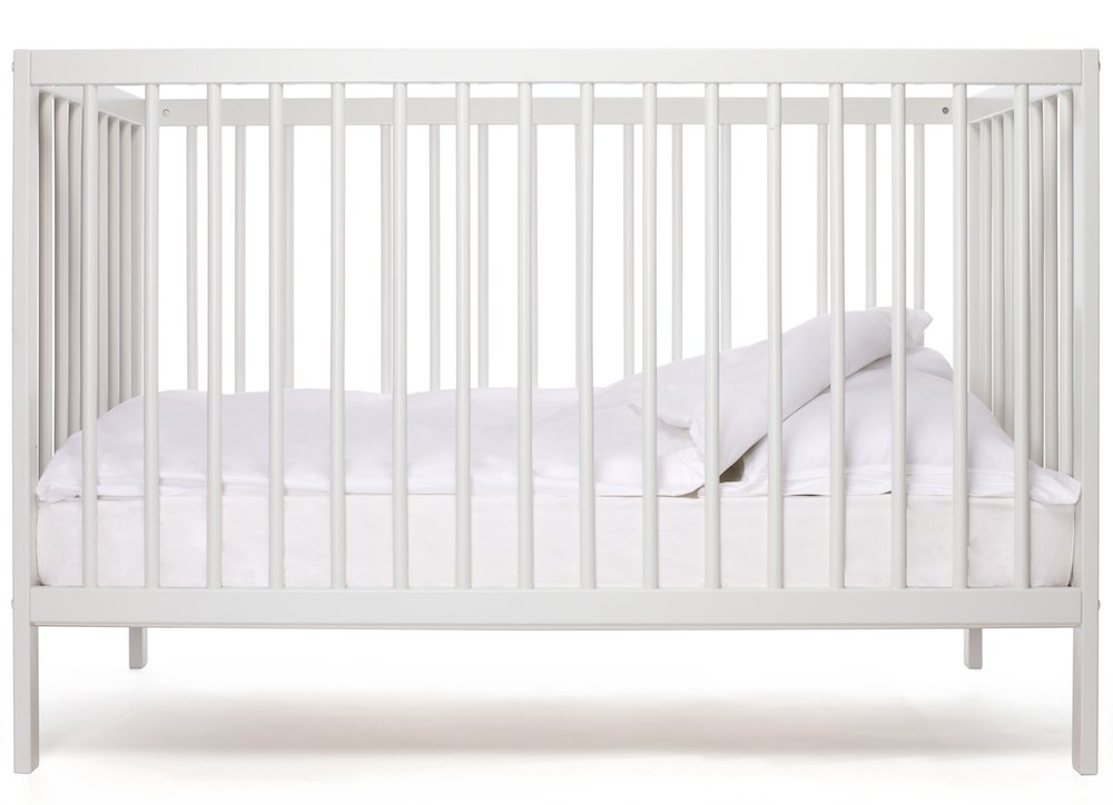 moKee Mini - Baby Cot (White) Serraco Ltd