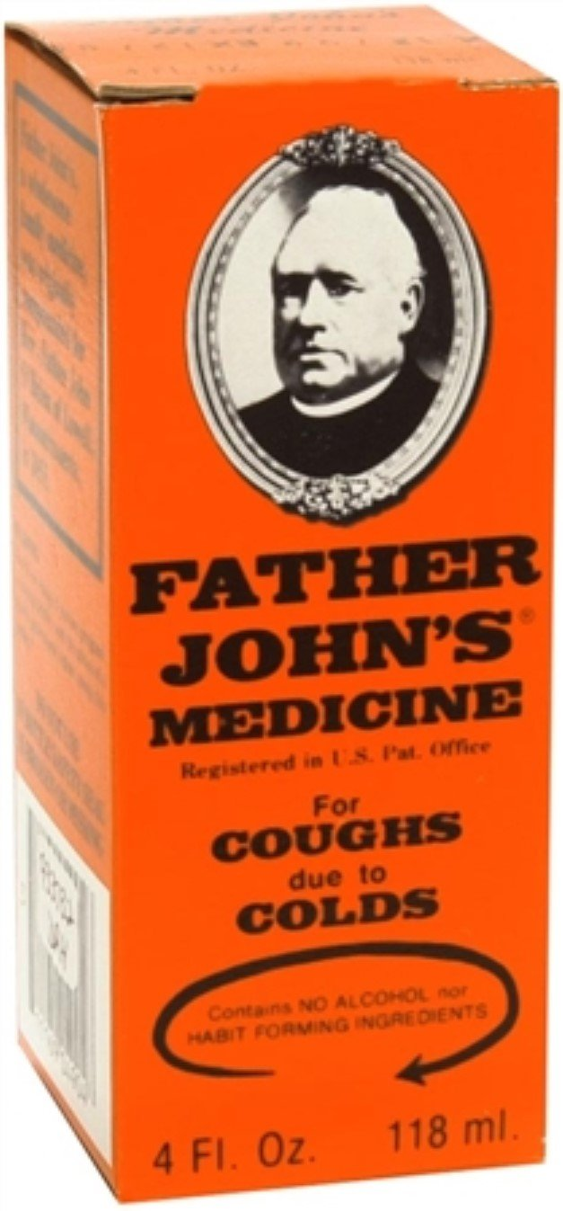 Father John's Medicine Cough Suppressant 4 oz (Pack of 2)