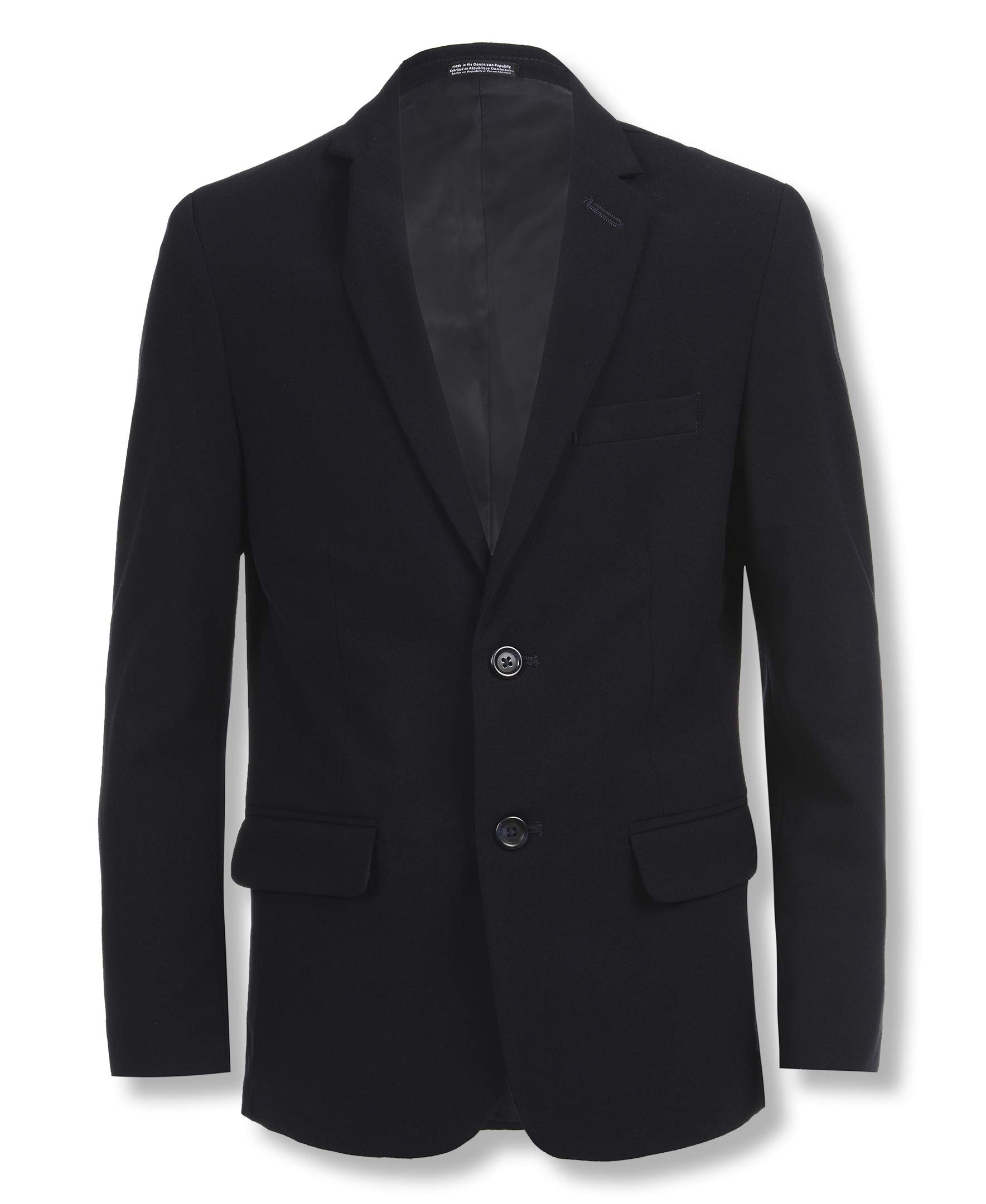 Calvin Klein Big Boys' Bi-Stretch Blazer, Navy, 20