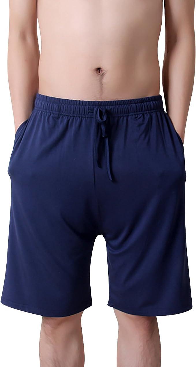 Dolamen Hombre Pantalones de Pijama Algodón Modal ...