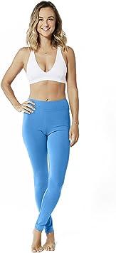 Lotuscrafts Mallas largas de Yoga para Mujer, algodón biológico ...