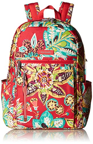 Vera Bradley Women's Small Backpack Summer, Rumba